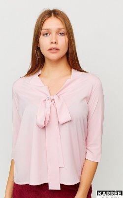 Блуза Глория пыльно-розовая