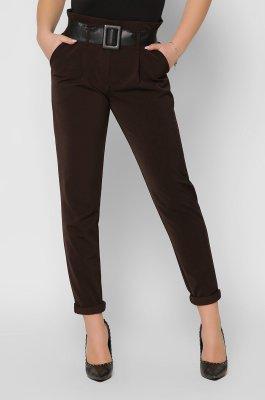 Зауженные брюки 4253-26 коричневые