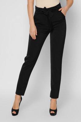 Стильные костюмные брюки 4254-8 черные