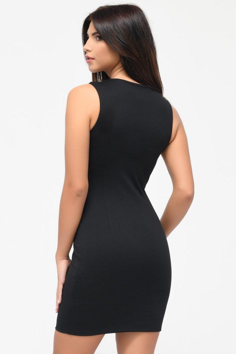 Платье 10175-8 Черный