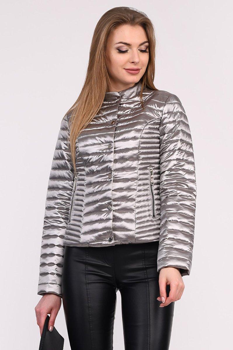 Куртка LS-8824-20 Серебро