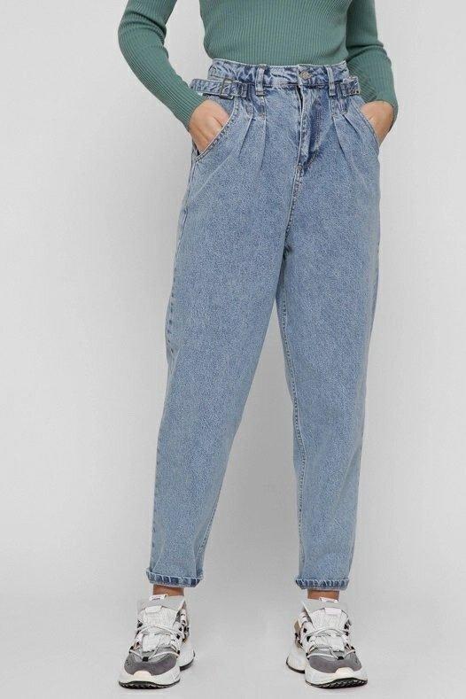 Женские джинсы slouchy 31837-11 голубой