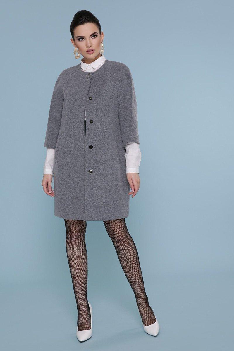 Пальто П-355 071-св. серый