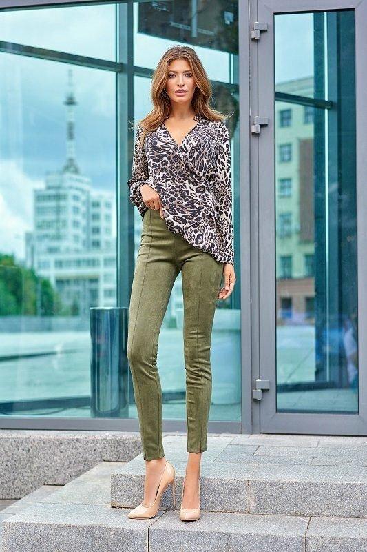 Стильная блуза Кейли серый