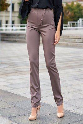 Классические брюки Дора коричневый