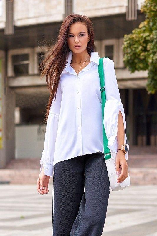 Шикарная блуза Клара молочный