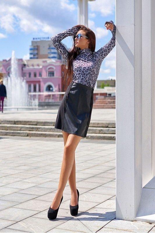 Юбка Хлоя черный