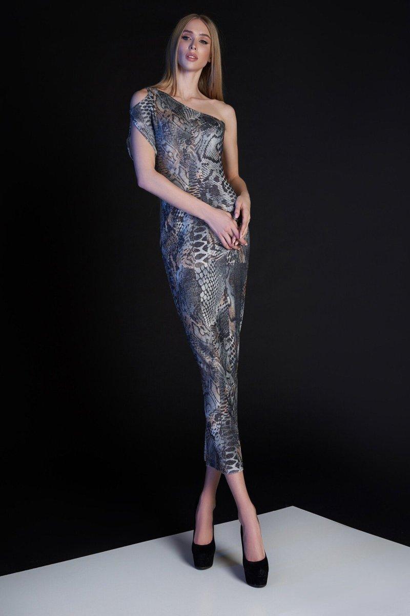 Платье Селена комбинированный