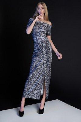 Платье Айша серый