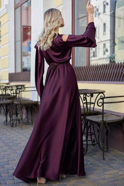 Платье Виктория марсала