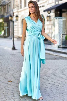Платье Фурор бирюзовый