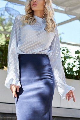 Блуза Неада голубой