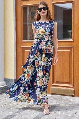 Платье Сиона тёмно-синий