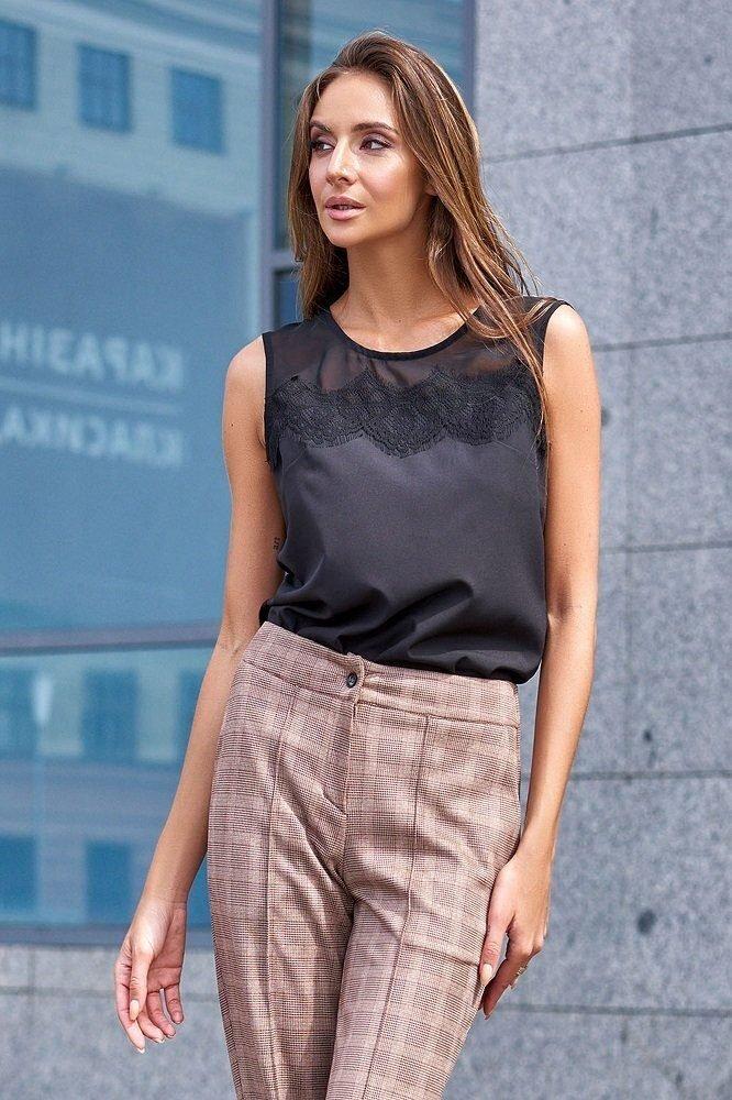 Актуальная блуза Сафина черная