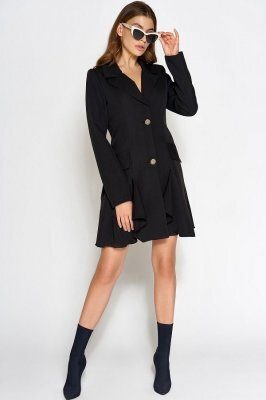 Платье Рита черное
