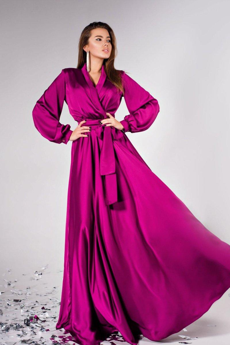 Платье Shine фуксия