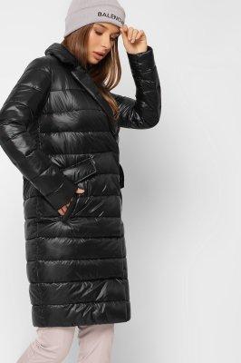 Трендовая стеганая куртка 8867-8 Черная
