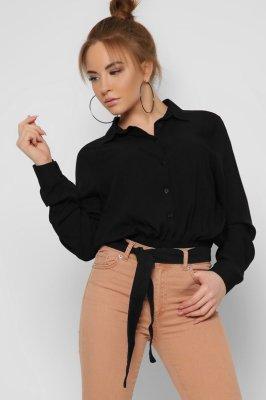 Модная блузка 32604-8 черная
