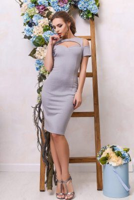 Красивое платье футляр KP-5888-4