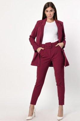 Женский костюм 2133-16 Т. малина