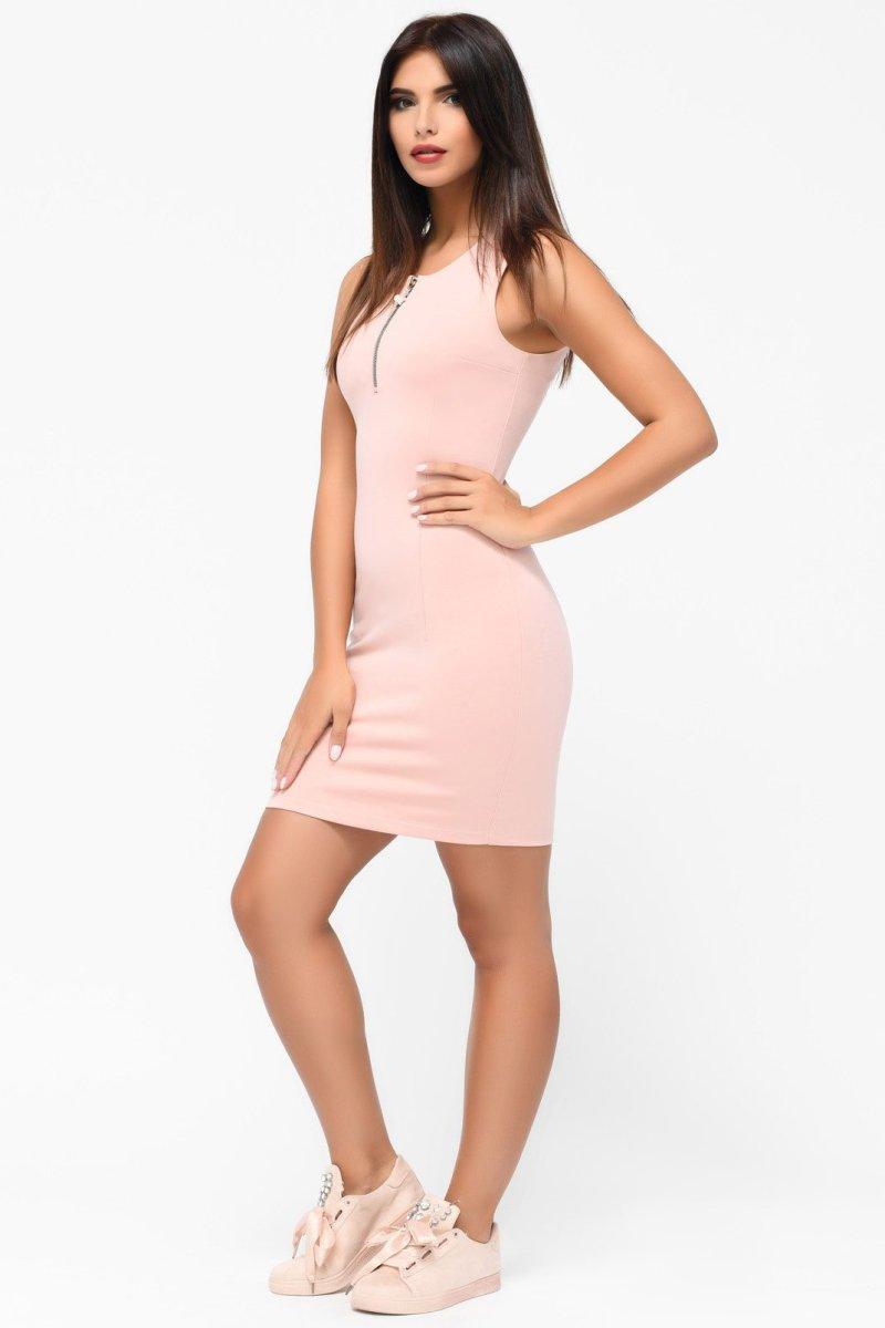 Платье 10175-25 Пудра