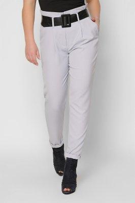 Зауженные брюки 4253-4 серые