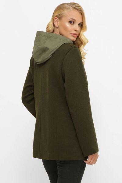 Куртка из ангоры Санти хаки