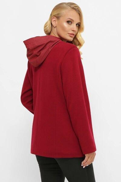 Куртка из ангоры Санти красная