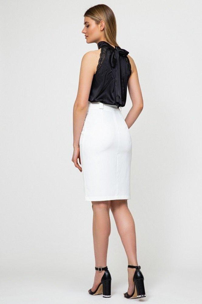 Шелковая блуза 21220 черный