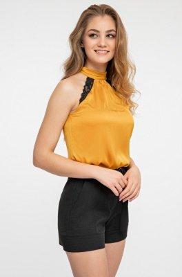Блуза 21222 золотой