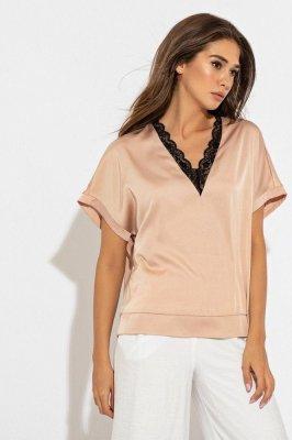 Нежная блуза 21239 пудра