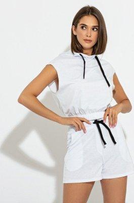 Комфортный костюм 3083 белый