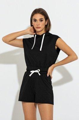 Комфортный костюм 3084 черный