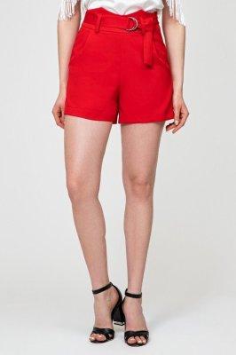 Стильные шорты 4143 Красный