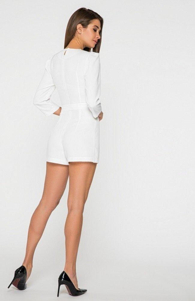 Модный ромпер 4535 белый