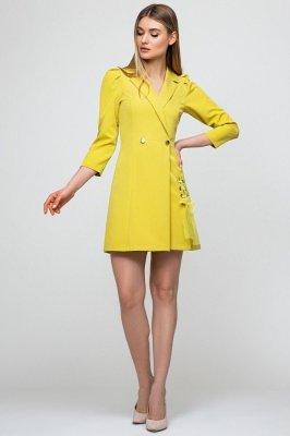 Платье-жакет 51153 яблоко
