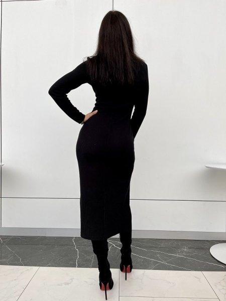 Леопардовое платье с воланами из шелка