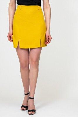 Классическая юбка 6160 горчица