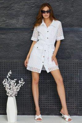 Модная рубашка из коттона Гамс (чёрный)