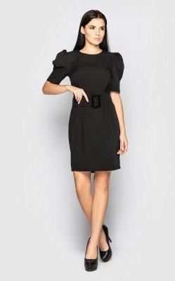 Изящное платье 4093 (черное)