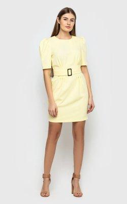 Изящное платье 4093 (желтое)
