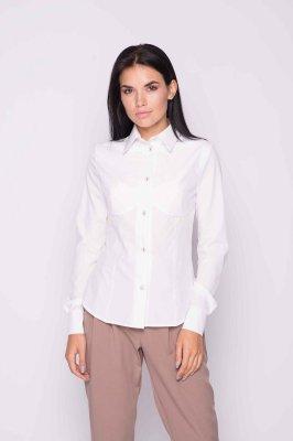 Классическая женская блуза (белая)