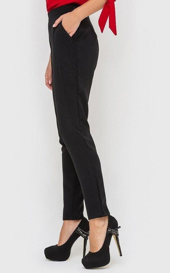 Классические женские брюки чёрные