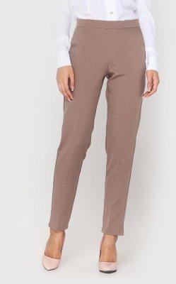 Классические женские брюки (бежевые)