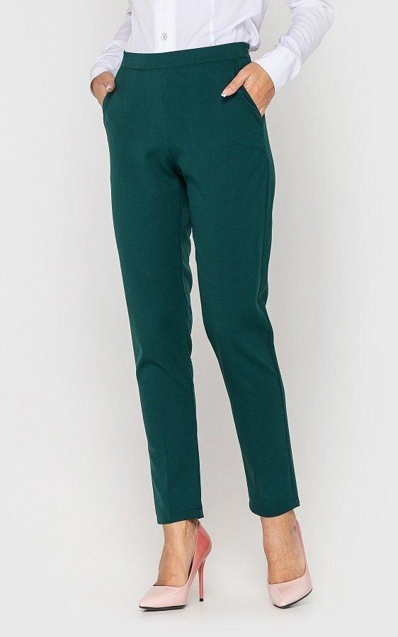 Классические женские брюки (зеленый)