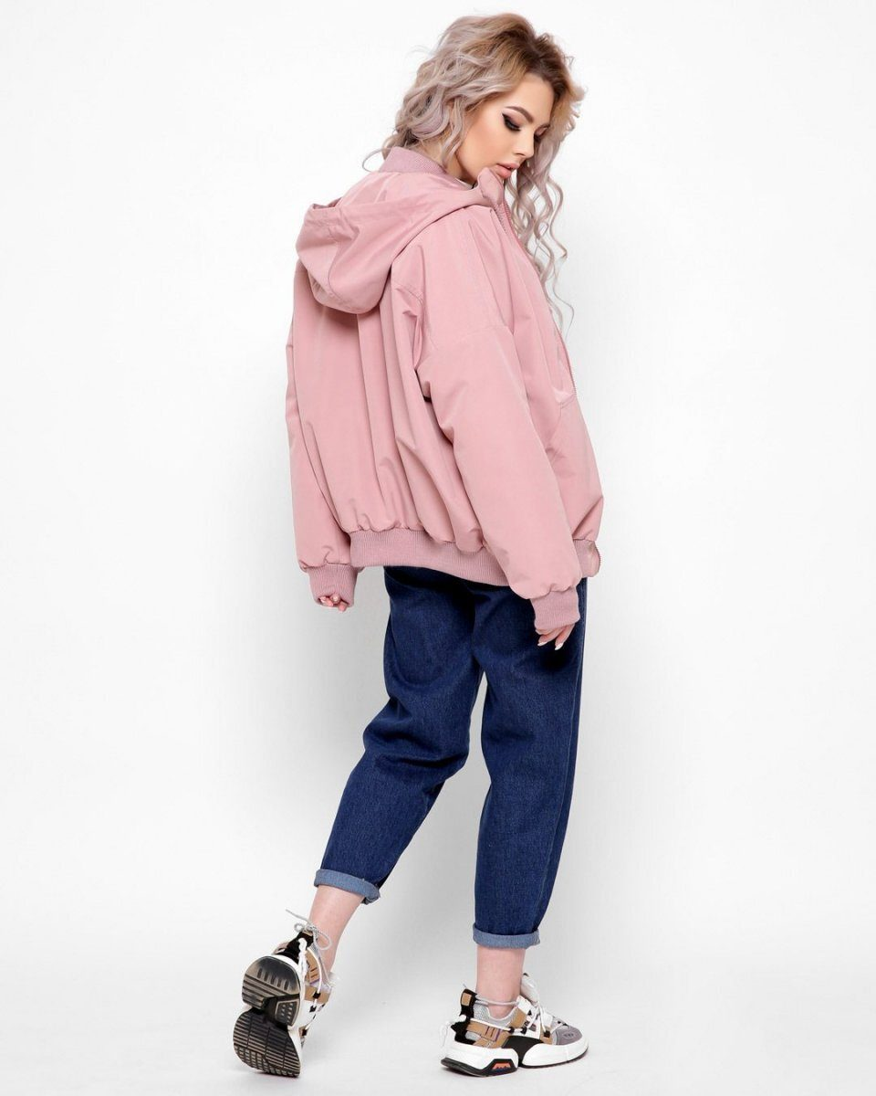 Женская ветровка 8893-15 розовый