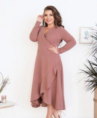 Элегантное платье 3121Б фрез