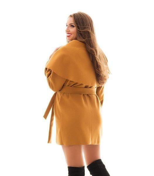 Кашемировое пальто-кардиган 1007