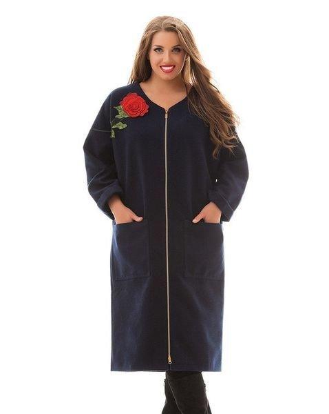 Кашемировое пальто-кардиган 1005