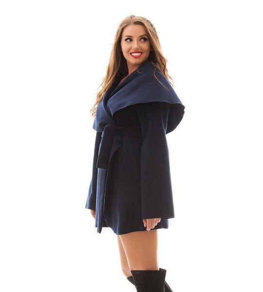 Кашемировое пальто-кардиган 1004